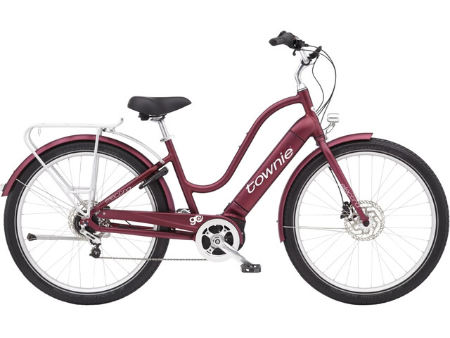 """Electra Townie Path Go! 5i 27,5"""" Naiset, matte rosewood"""